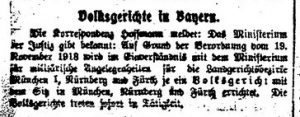 Die Rote Fahne, 9. Dezember 1918